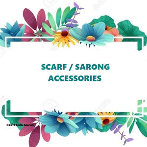 Scarf & Sarong Accessories W/ Details